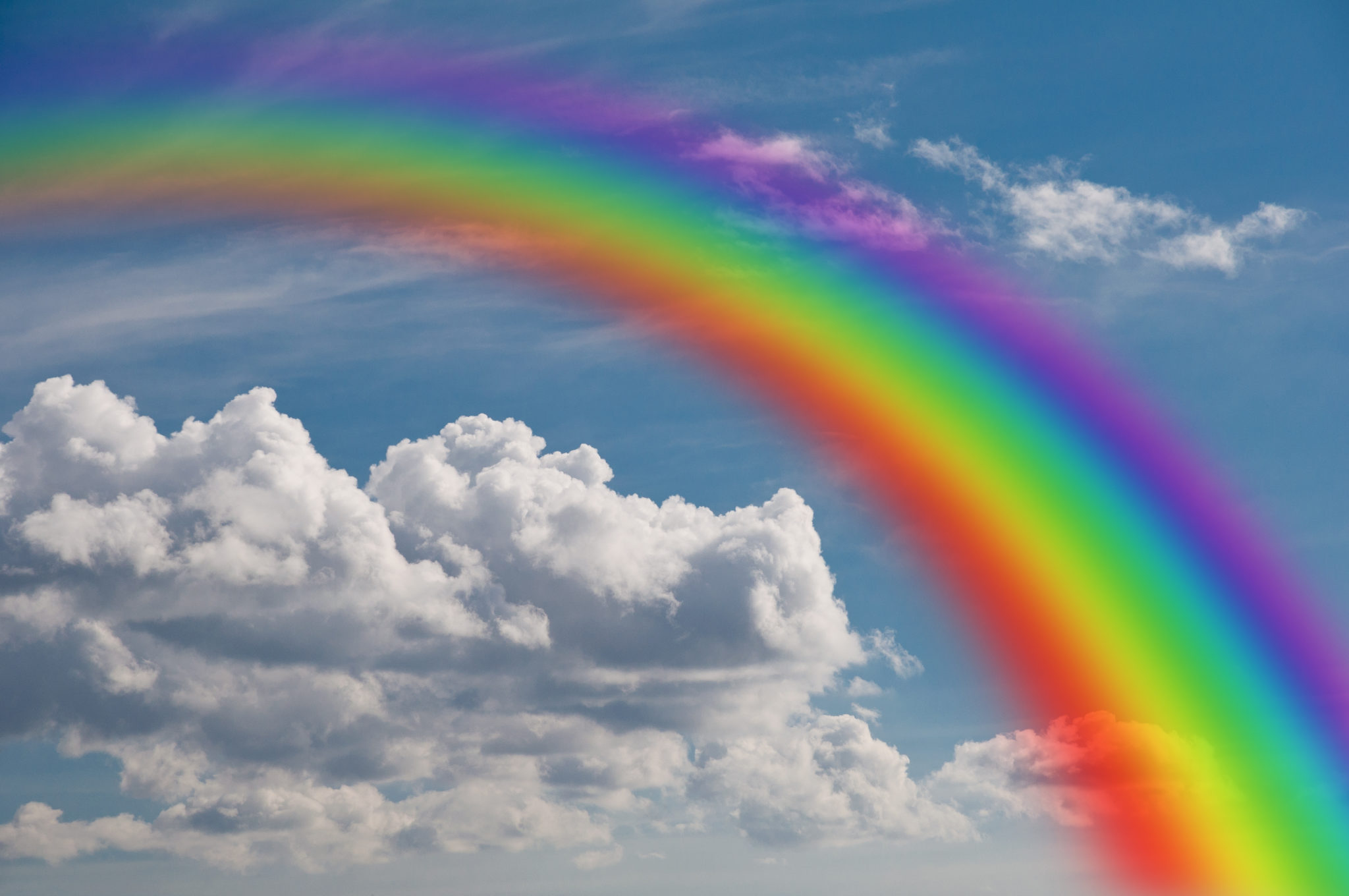 "Catch a Rainbow To Take You To ""The Bright Side of the ..."